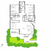Floorplan Two Bed
